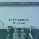Testimonial Contest