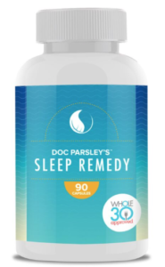 Doc Parsley Whole 30 Sleep Remedy Capsules